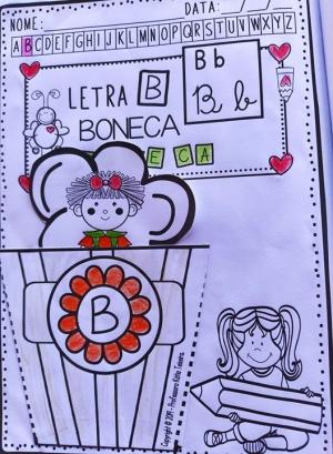 Foto2 - Alfabeto interativo, letras, desenhos, tipos de letras, palavras e sílabas