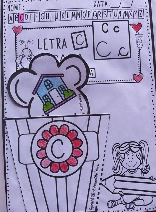 Foto6 - Atividades de alfabetização: Pacote de atividades interativas 01