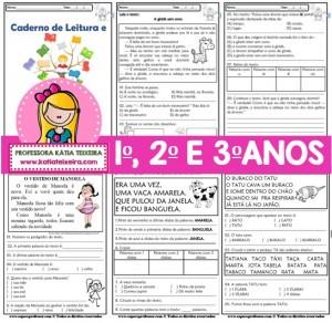 Foto1 - Caderno de Atividades Leitura e Interpretação Ciclo de Alfabetização
