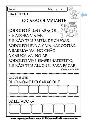 Foto4 - Caderno de Atividades Leitura e Interpretação Ciclo de Alfabetização