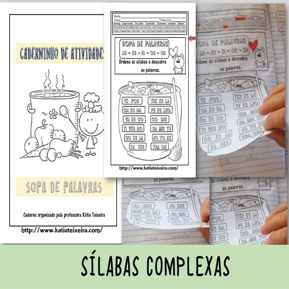 Foto 1 - Formando palavras com sílabas complexas
