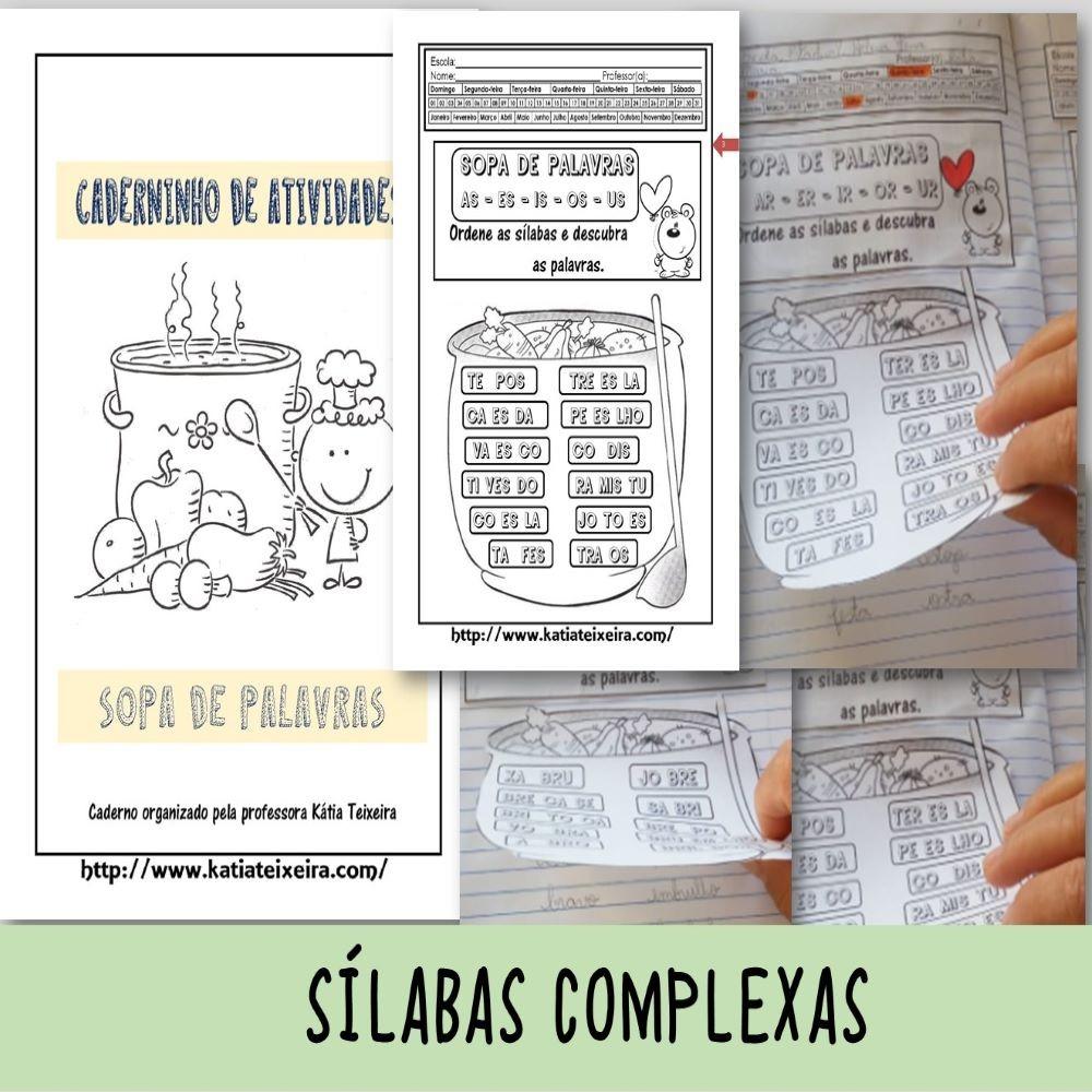 Foto1 - Formando palavras com sílabas complexas