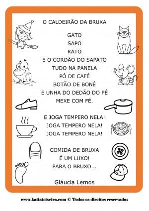 Foto4 - Kit de Atividades de Alfabetização Caldeirão da Bruxa