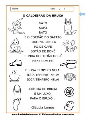 Foto5 - Kit de Atividades de Alfabetização Caldeirão da Bruxa