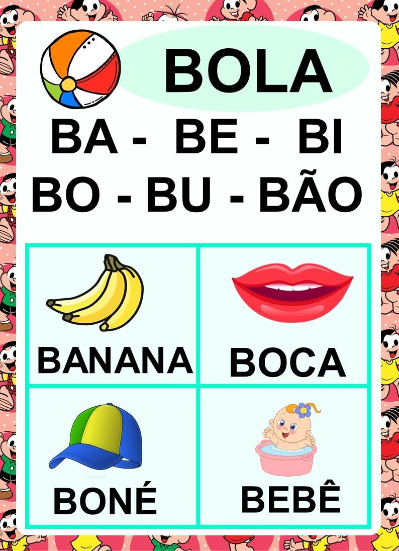 Foto2 - Kit digital alfabeto, silabário + números de 0 a 20 em PDF