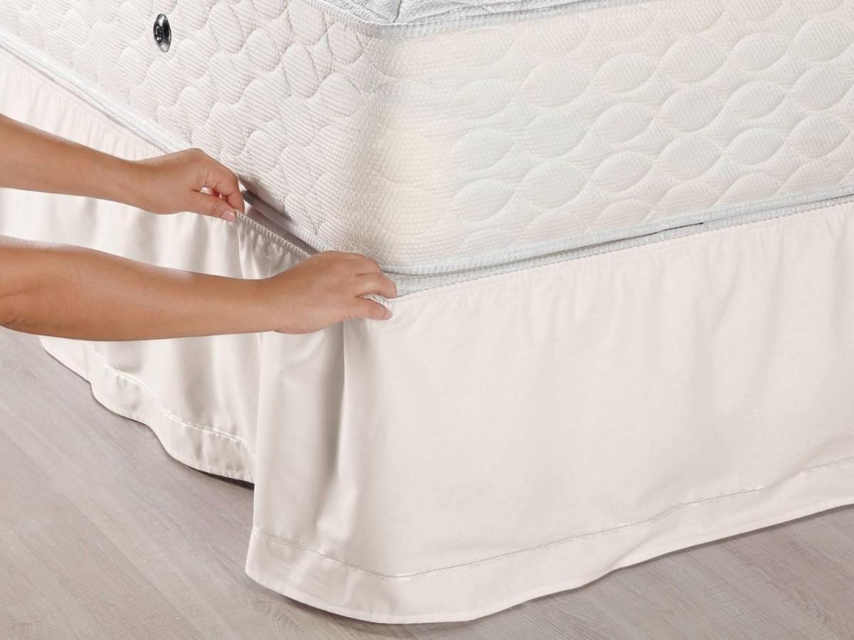 Imagem do produto Saia para cama Queen Size - Box Veste Fácil - Santista