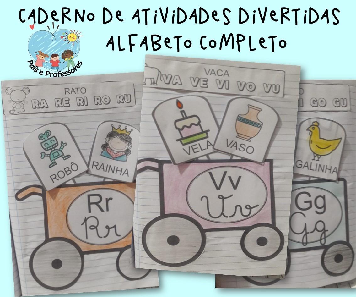 Imagem do produto Atividades divertidas para trabalhar o alfabeto Picolé de palavras