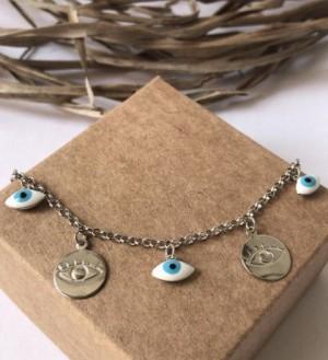 Foto2 - Pulseira Olho Grego - Coleção Elegance