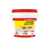 Foto 1 - Parede Quartzolit - Protetor contra a umidade de água de chuva.