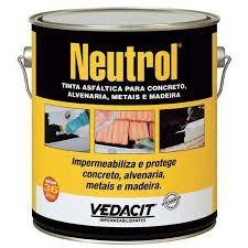 Foto 1 - Neutrol - Tinta asfáltica impermeável