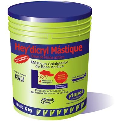 Foto 1 - Hey' dicryl Mástique - Tratamento de trincas e fissuras em fachadas de edifícios