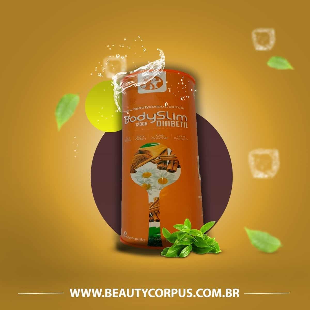 Imagem do produto Body Slim Chá Diabetil - 120 gr