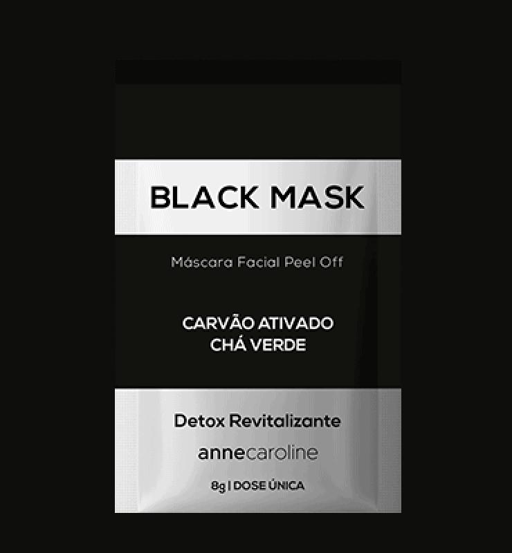 Imagem do produto Máscara Facial Peel Off - Black Mask 8g - 10 Unid