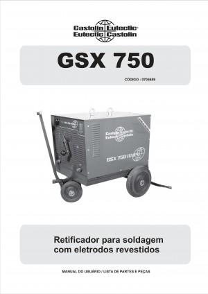Foto1 - MANUAL GSX 750 ITAIPU
