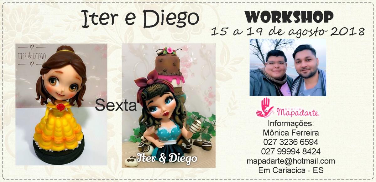 Foto4 - 01 Aula PRESENCIAL- Workshop Diego e Iterlano (01 aula a escolher)