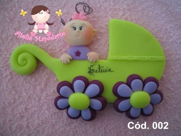 Foto 1 - Cód 002 Molde carrinho de bebê