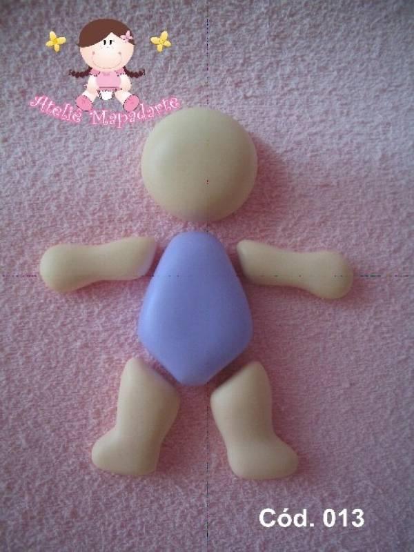 Foto3 - Cód 013 Molde de boneca