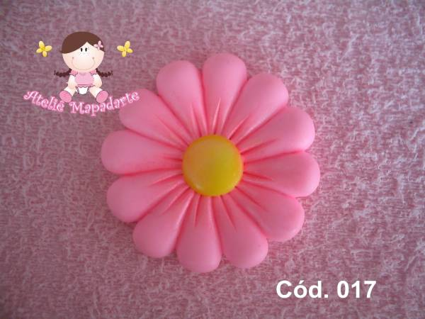 Foto 1 - Cód 017 Molde de flor
