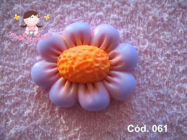 Foto 1 - Cód 061 Molde de flor