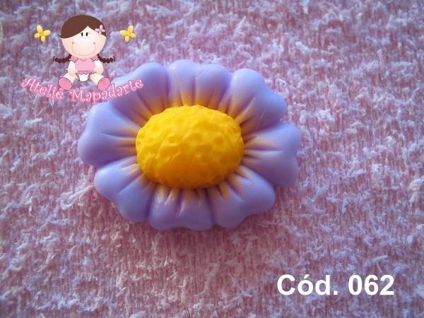 Foto 1 - Cód 062 Molde de flor