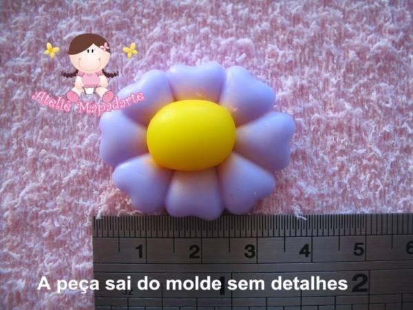 Foto2 - Cód 062 Molde de flor