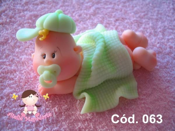 Foto 1 - Cód 063 Molde de bebê