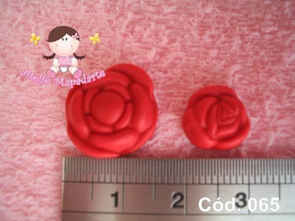 Foto 1 - Cód 065 Molde de mini rosas