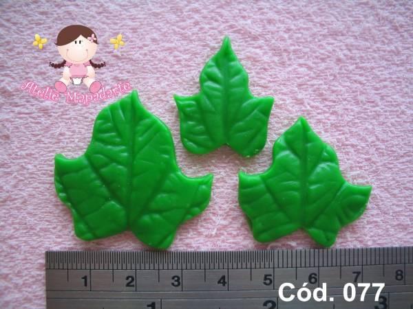 Foto 1 - Cód 077 Molde de folhas de uva