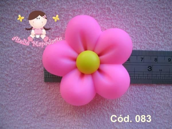 Foto 1 - Cód 083 Molde de flor gorda G