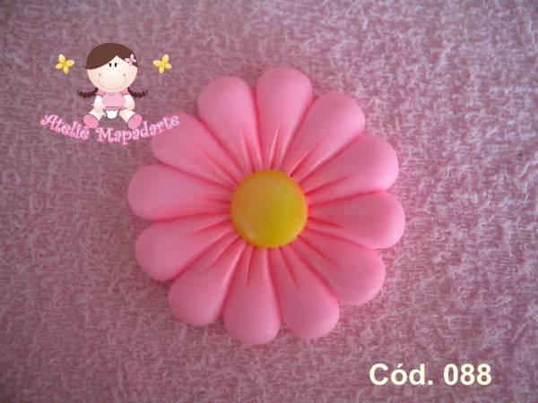 Foto 1 - Cód 088 Molde de Flor Média
