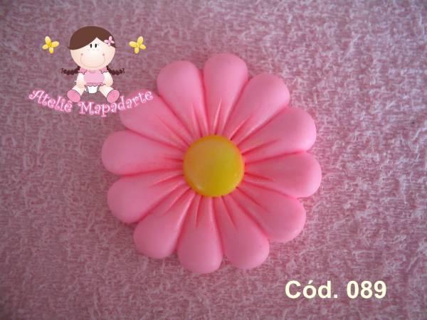 Foto 1 - Cód 089 Molde de flor pequena