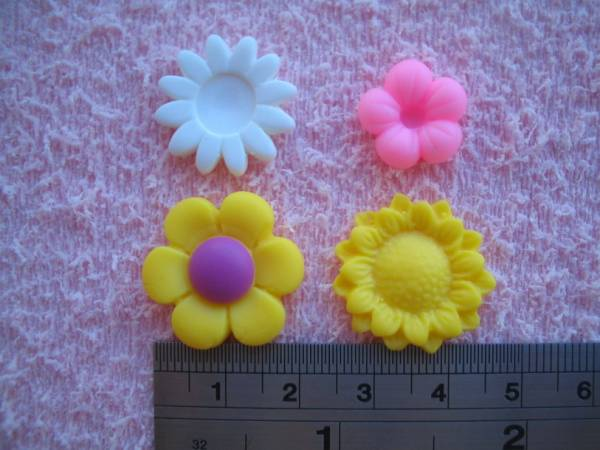 Foto2 - Cód 102 Molde de flores