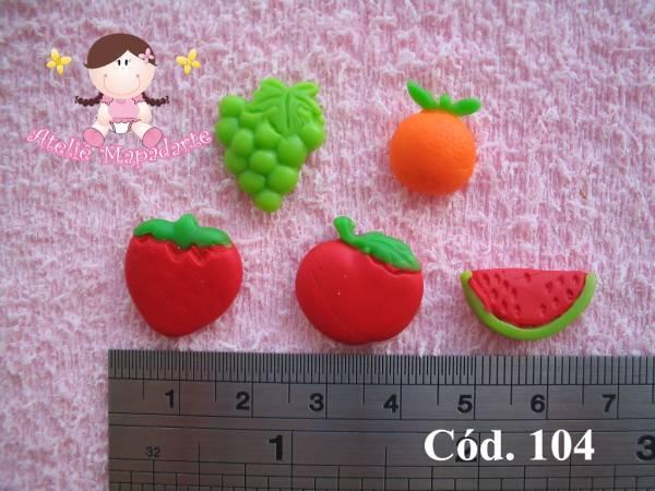 Foto 1 - Cód 104 Molde mini frutas