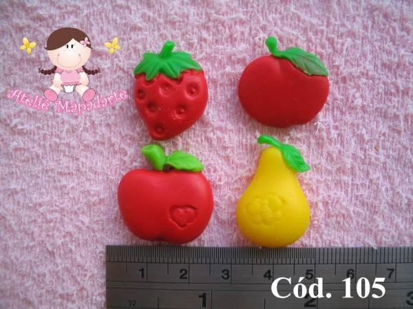 Foto 1 - Cód 105 Molde mini frutas