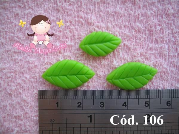 Foto 1 - Cód 106 Molde de folhas