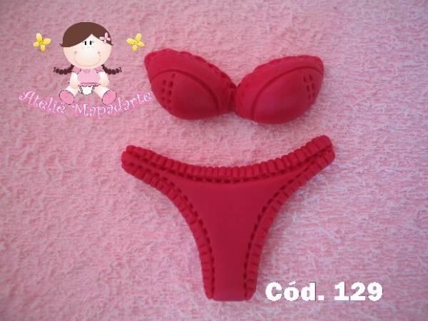 Foto 1 - Cód 129 Molde de lingerie