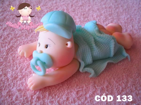 Foto 1 - Cód 133 Molde bebê com manto GG