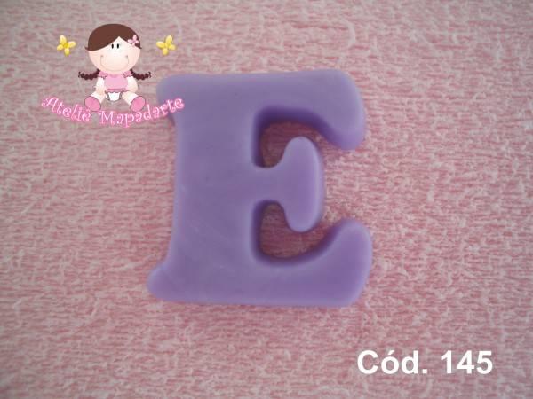 Foto 1 - Cód 145 Molde de letra E