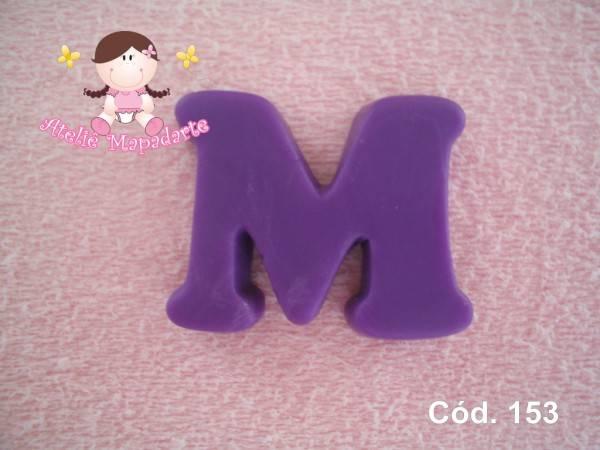 Foto 1 - Cód 153 Molde da letra M