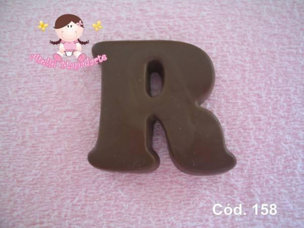 Foto 1 - Cód 158 Molde da letra R