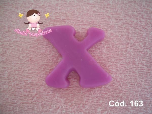 Foto 1 - Cód 163 Molde da letra X