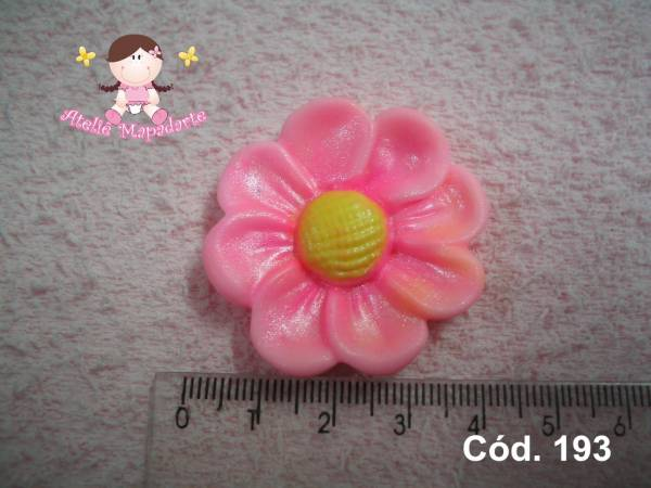 Foto 1 - Cód 193 Molde de flor