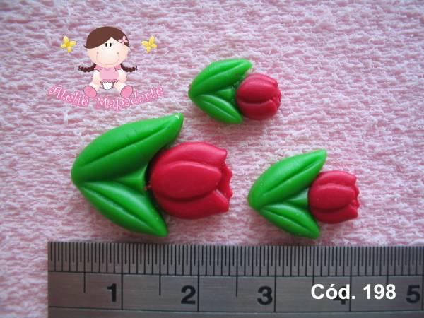 Foto 1 - Cód 198 Molde de tulipas