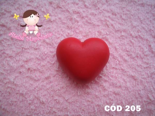 Foto 1 - Cód 205 Molde de coração gordo
