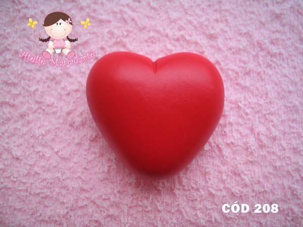 Foto 1 - Cód 208 Molde coração gordo G