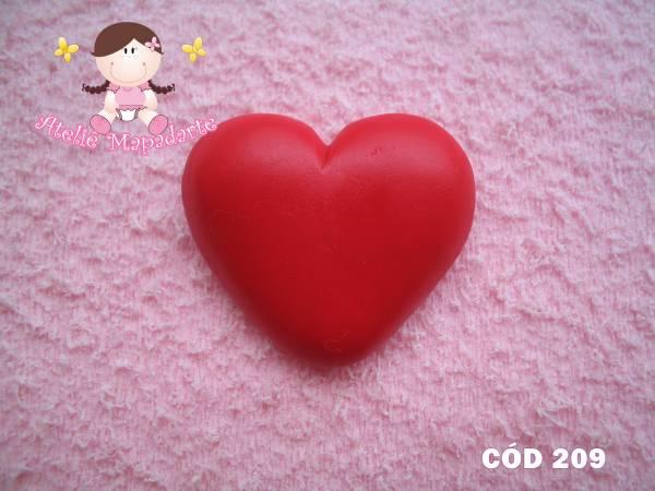 Foto 1 - Cód 209 Molde de coração chato G