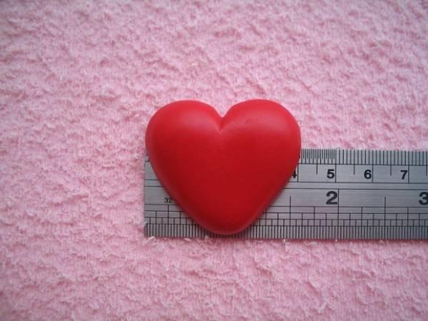 Foto2 - Cód 209 Molde de coração chato G
