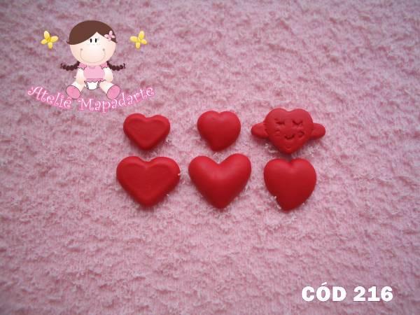 Foto 1 - Cód 216 Molde de mini corações