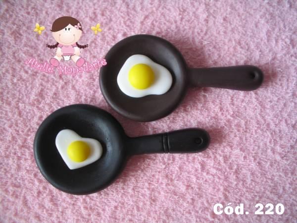 Foto 1 - Cód 220 Molde de Frigideira com ovo G