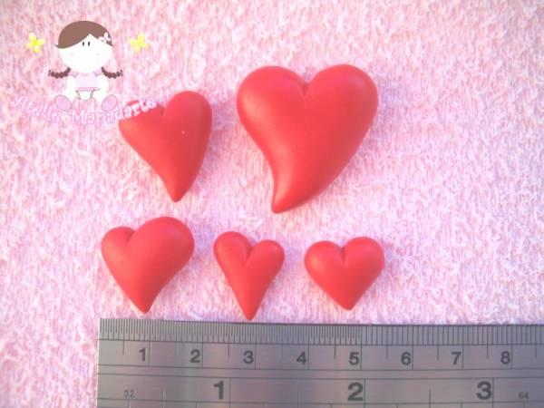 Foto2 - Cód 225 Molde de coração com 5